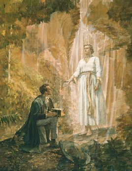 Angel Moroni visit Joseph Smith Mormon