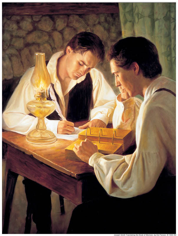 Joseph Smith Translate Book Mormon