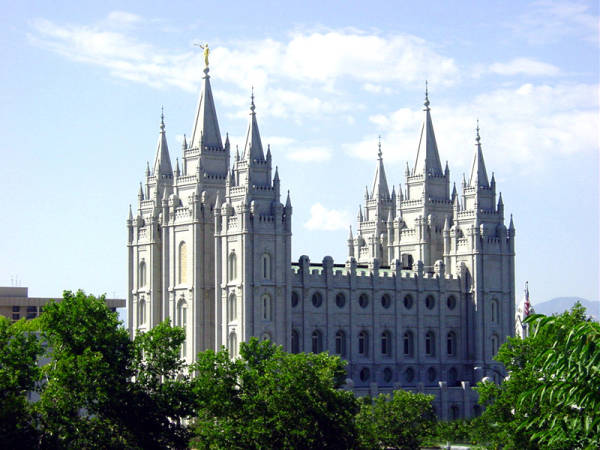 Salt Lake Mormon Temple, Salt Lake City, Utah
