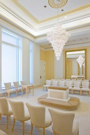 Oquirrh Utah Mormon Temple Sealing Room
