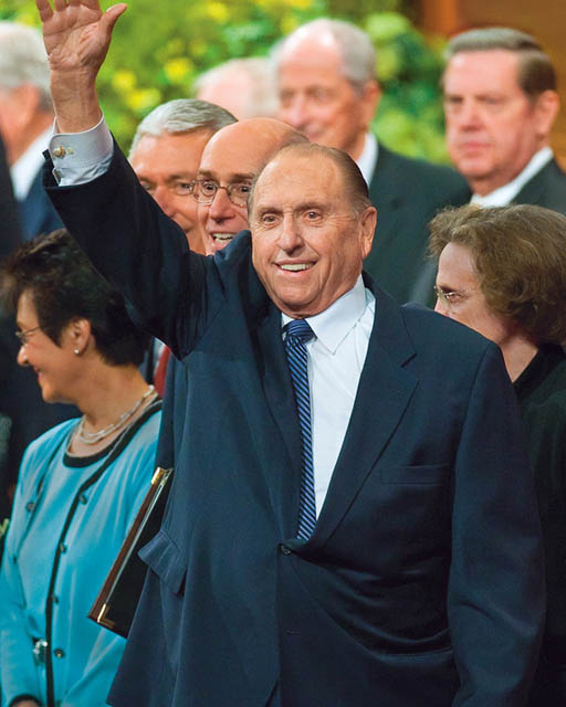 Mormon Church Living Prophet Thomas Monson