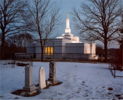 Winter Quarters Nebraska Mormon Temple