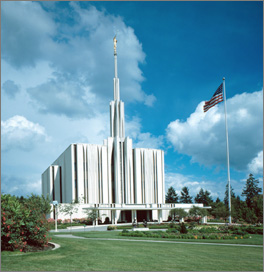Seattle Washington Mormon Temple