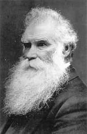 Mormon Apostle Orson Pratt in old age