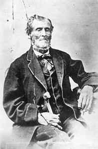 Martin Harris, one of the three witnesses to the Book of Mormon