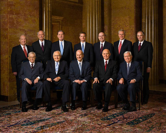 Mormon Leaders Quorum of the Twelve Apostles