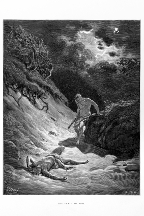 Death of Abel by Gustave Doré � Mormons read the Old Testament and believe it is the word of God