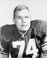 Mormon Football Player Merlin Olsen