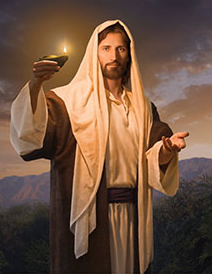 Jesus Christ - Lead Kindly Light by Simon Dewey