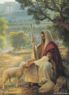 Mormon Jesus the Good Shepherd
