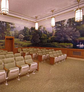 Mormon temple ceremony