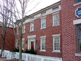 The Nauvoo home of Mormon Prophet John Taylor