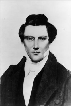 1843 Photograph of Joseph Smith, Mormon Prophet