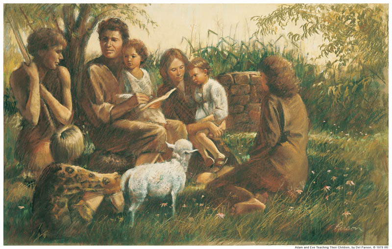Adam and Eve Children mormon