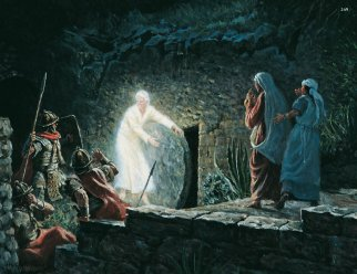 Angel at the empty tomb mormon
