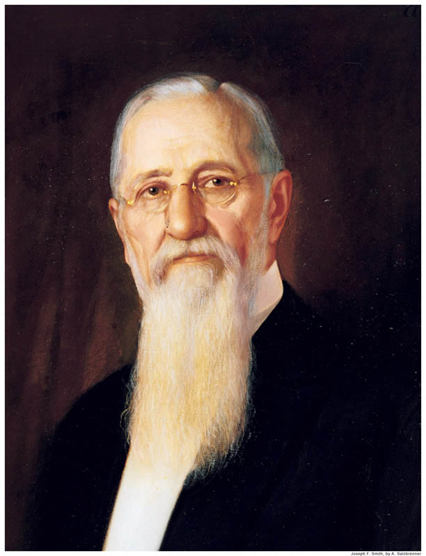 6th Mormon Prophet Joseph F. Smith