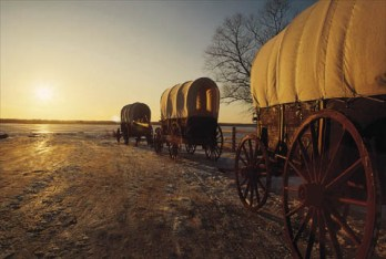 Mormon Pioneers Move West