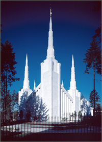 Portland Oregon Temple Mormonism The Mormon Church