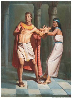 Joseph and Potiphar Wife Mormon