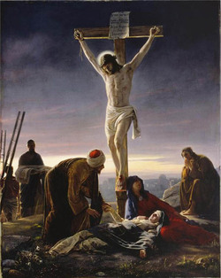 crucifixion Christ Mormon belief