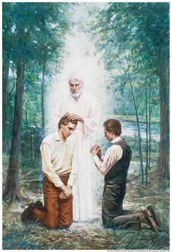 John the Baptist Aaronic Priesthood Restoration Mormon