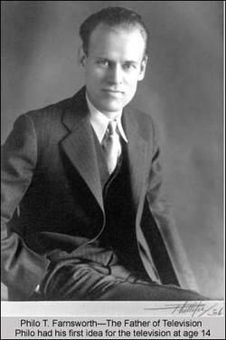 Philo T Farnsworth Mormonism The Mormon Church