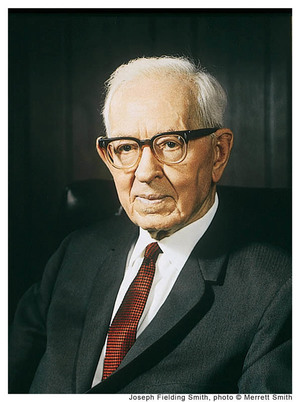 Joseph Fielding Smith Mormon Prophet