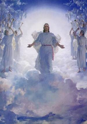 Mormon Jesus Christ returns in glory