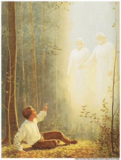 Joseph Smith First Vision Mormon Theology