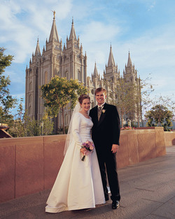 Mormon Temple Marriage of the Mormon Church