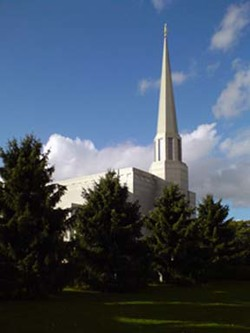 Preston England Mormon Temple