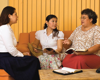 Mormon Women Visiting Teaching
