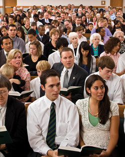 Mormon Church Meeting