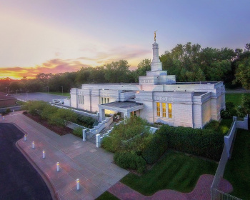 St.Paul Minnesota Mormon Temple