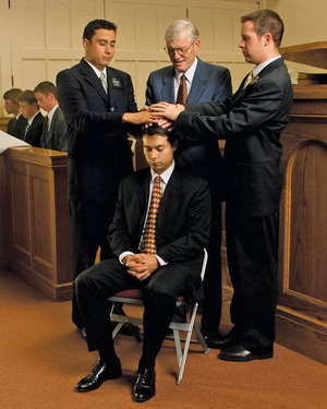 Mormon Confirmation and Gift of the Holy Ghost