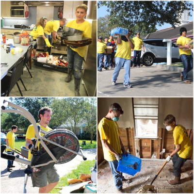 Mormon Helping Hands - Baton Rouge, Louisianna Flood Relief 2016